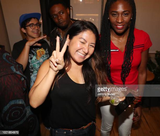 Annie Chen attends the Cantrell Stardust 2 Angels Listening Party at Mass Appeal on August 22 2018 in New York City