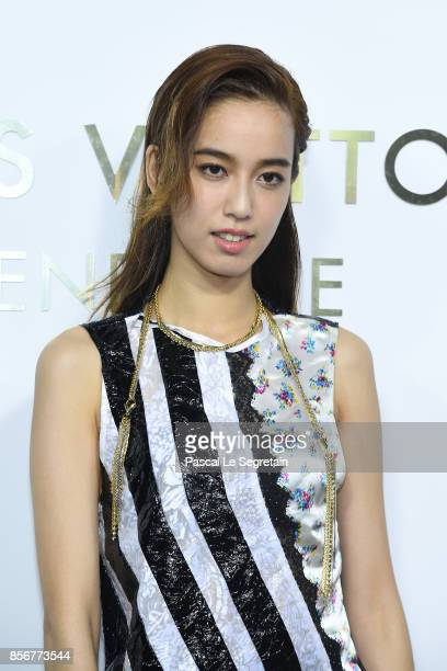 Annie Chen attends the Opening Of The Louis Vuitton Boutique as part of the Paris Fashion Week Womenswear Spring/Summer 2018 on October 2 2017 in...