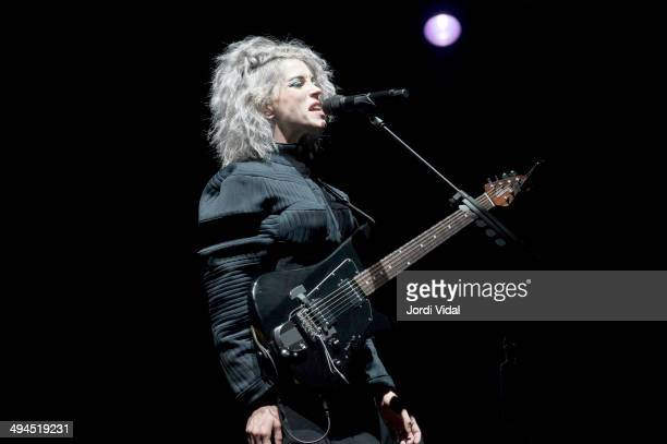 Annie Clark aka St Vincent performs on stage during the second day of Primavera Sound 2014 at Parc Del Forum on May 29 2014 in Barcelona Spain