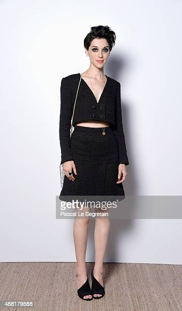 Annie Clark attends the Vanity Fair And Chanel Dinner at Restaurant Tetou during the 68th annual Cannes Film Festival on May 20 2015 in Cannes France