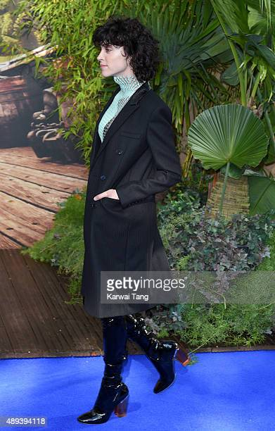 Annie Clark attends the World Premiere of 'Pan' at Odeon Leicester Square on September 20 2015 in London England