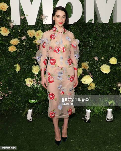 Annie Clark of St Vincent attends the 2018 Party in the Garden at Museum of Modern Art on May 31 2018 in New York City