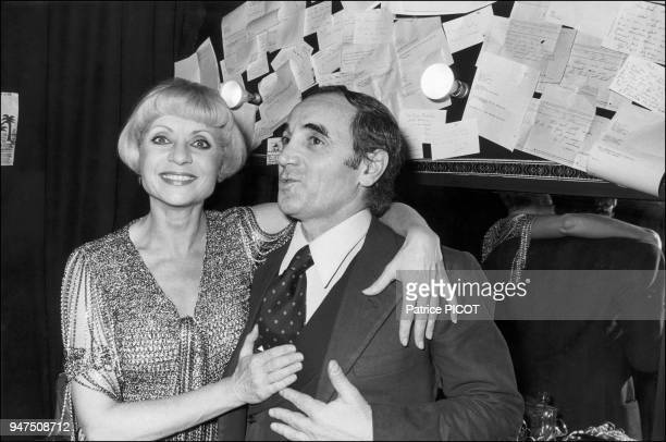 Annie Cordy and Charles Aznavour Olympia 1975