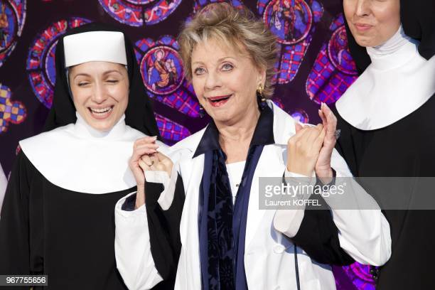 Annie Cordy attend 'Sister Act The Musical' Gala Premiere at Theatre Mogador on September 20 2012 in Paris France