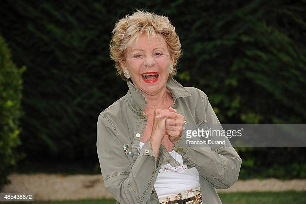Annie Cordy attends the 8th Angouleme FrenchSpeaking Film Festival on August 27 2015 in Angouleme France