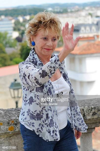 Annie Cordy attends the 'Les Souvenirs' Photocall at Hotel Mercure during the 7th Angouleme FrenchSpeaking Film Festival on August 24 2014 in...