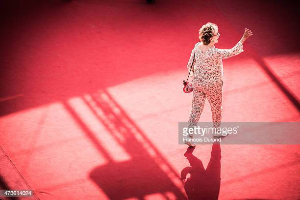 Annie Cordy attends the Premiere of Mia Madre during the 68th annual Cannes Film Festival on May 16 2015 in Cannes France
