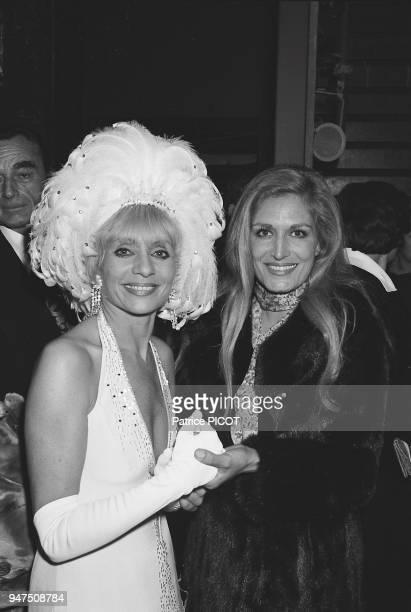 Annie Cordy Dalida 1ere of Nini la chance 1976