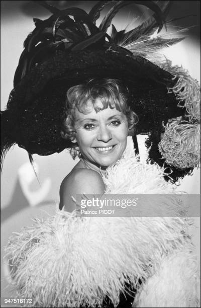 Annie Cordy in Hello Dolly show Mogador theater 1972