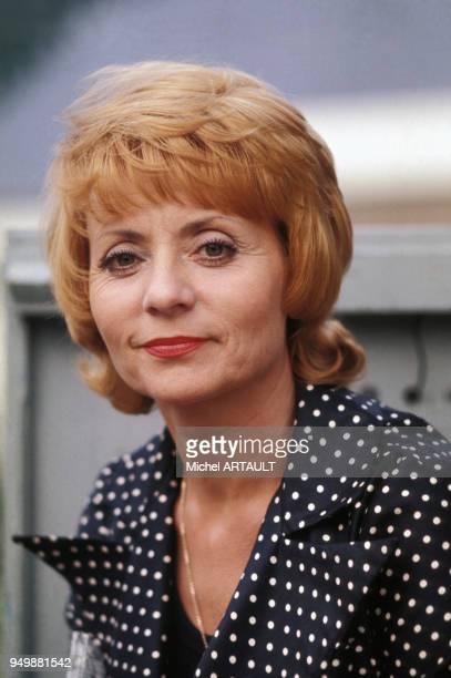 Annie Cordy lors des Olympiades de la chanson à Hydra le 12 mai 1978 Grèce