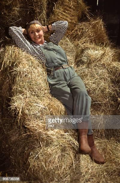 Annie Cordy sur le tournage du film réalisé par Philippe Triboit en juillet 192 France
