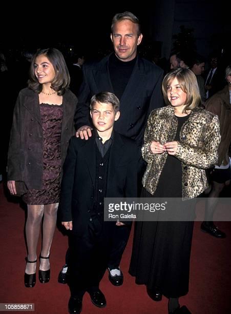 Annie Costner Joe Costner Kevin Costner and Lily Costner