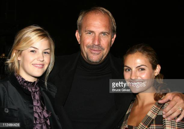Annie Costner Kevin Costner and Lily Costner *Exclusive*