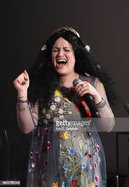 Annie Donley speaks onstage at Vulture Festival presented by ATT Las Culturistas Live at Milk Studios on May 19 2018 in New York City