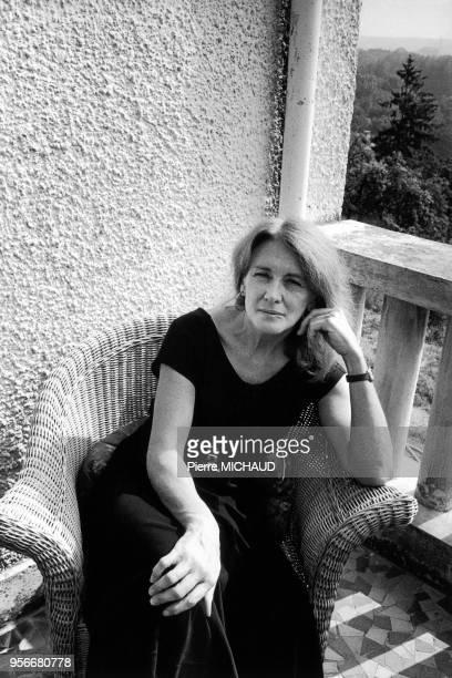 Annie ERNAUX at home 19900000