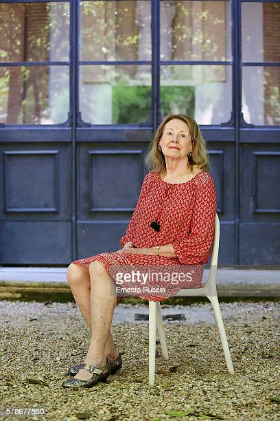 Annie Ernaux attends the 'Festival Delle Letterature 2016' photocall at Casa delle Letterature on June 20 2016 in Rome Italy