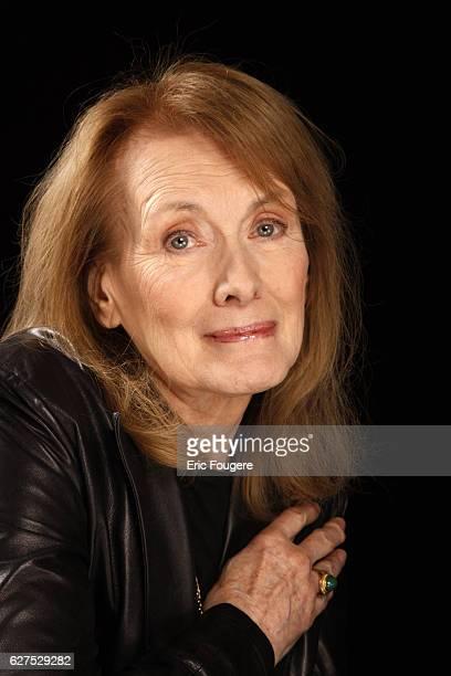 Annie Ernaux attends the France 2 TV show 'Esprits Libres' in Paris