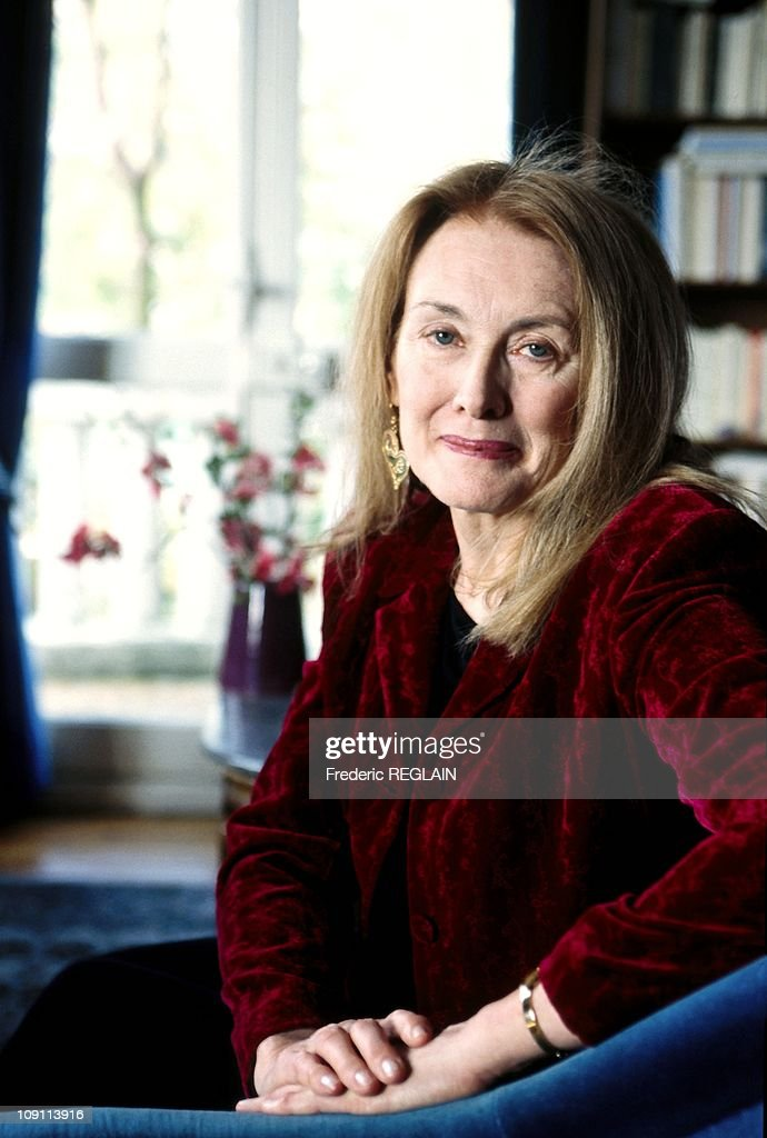 Annie Ernaux, Author On March 27Th, 2000, France. : News Photo
