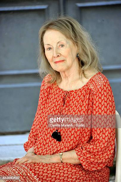 Annie Ernaux poses for a portrait at Festival delle Letterature on June 20 2016 in Rome Italy