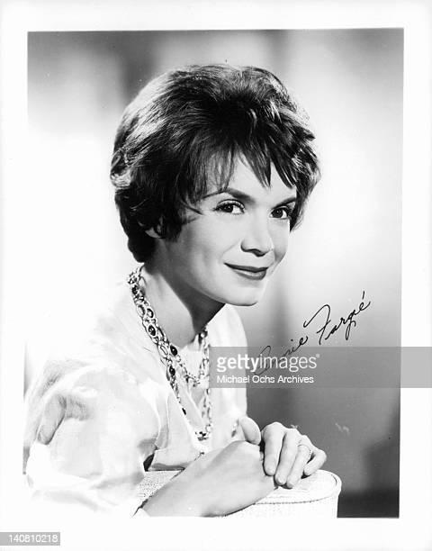 Annie Fargue circa 1960