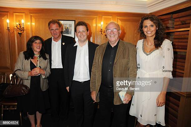 Annie Freud Andrew Motion Matthew d'AnconaClive James and Olivia Cole at The Spectator Launches Poetry Evening Nights on July 8 2009 in London England