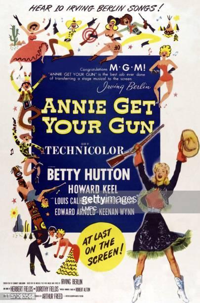 Betty Hutton on poster art 1950