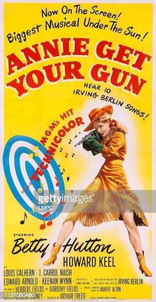 Annie Get Your Gun poster US poster art Betty Hutton 1950