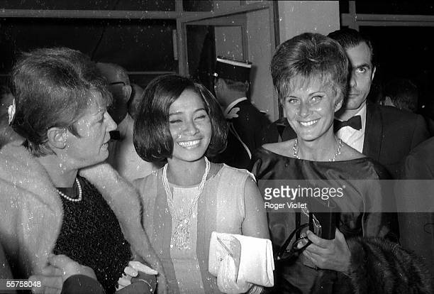 Annie Girardot and Alida Valli Cannes Film Festival 1966 HA138522