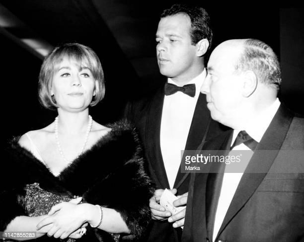 Annie Girardot. Renato Salvatori. Marcel Carnè. 1959.