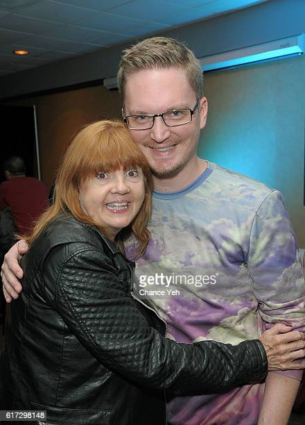 Annie Golden and Nathan Adloff attend 'Miles' New York screening and QA at Cinepolis Chelsea on October 22 2016 in New York City