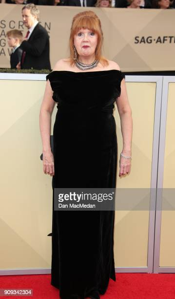 Annie Golden arrives at the 24th Annual Screen Actors Guild Awards at The Shrine Auditorium on January 21 2018 in Los Angeles California
