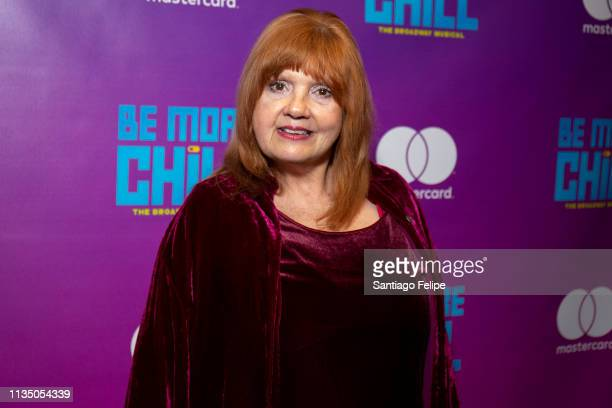 Annie Golden attends 'Be More Chill' broadway opening night afterparty at Gotham Hall on March 10 2019 in New York City