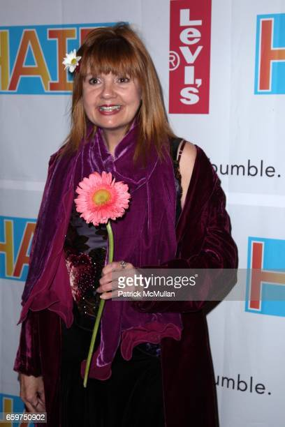 Annie Golden attends HAIR THE AMERICAN TRIBAL LOVEROCK MUSICAL Opens on Broadway at Al Hirschfeld Theatre on March 31 2009 in New York City