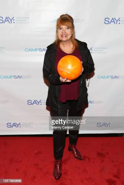 Annie Golden attends the 7th Annual Paul Rudd AllStar Bowling Benefit for SAY at Lucky Strike Manhattan on November 5 2018 in New York City