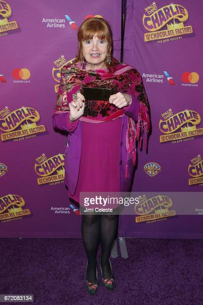 Annie Golden attends the 'Charlie And The Chocolate Factory' Broadway opening night at at LuntFontanne Theatre on April 23 2017 in New York City