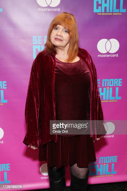 Annie Golden attends the opening night after party for Be More Chill at Gotham Hall on March 10 2019 in New York City