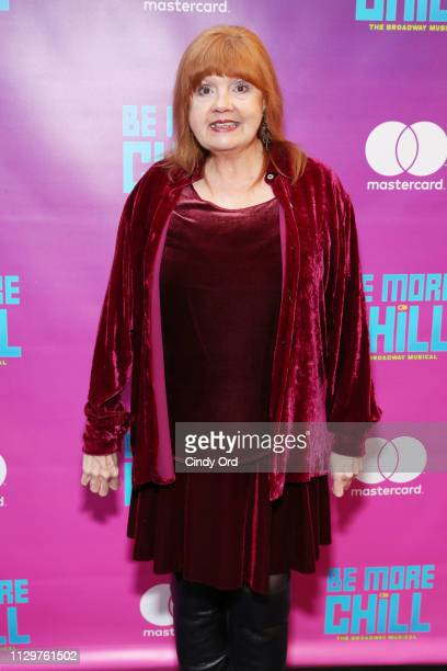 Annie Golden attends the opening night of 'Be More Chill' at Lyceum Theatre on March 10 2019 in New York City