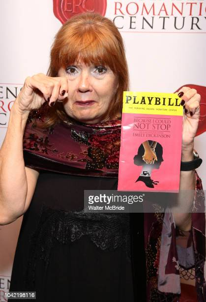 Annie Golden attends the Opening Night Party for 'Because I Could Not Stop An Encounter with Emily Dickinson' at the West Bank Cafe on September 27...