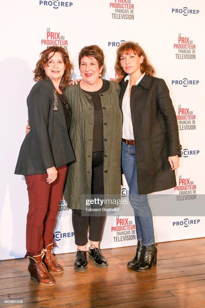 Annie Gregoriot attends the 23rd Prix Du Producteur Francais De Television, at the Trianon, on March 13, 2017 in Paris, France.