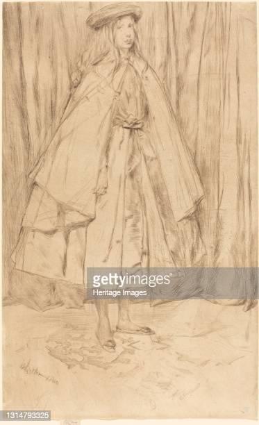 Annie Haden, 1860. Artist James Abbott McNeill Whistler.
