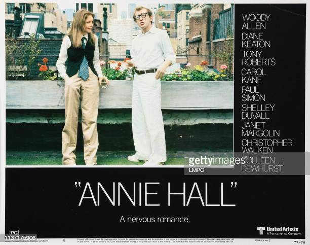 Annie Hall lobbycard Diane Keaton Woody Allen 1977