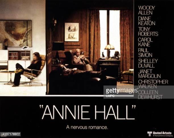 Annie Hall, lobbycard, Diane Keaton, Woody Allen, Humphrey Davis, 1977.