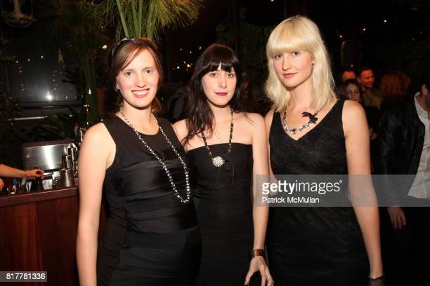 Annie Hart Heather D'Angelo and Erika Forster attend Ann Taylor Spring 2011 Preview Party at Gramercy Park Rooftop on October 20 2010 in New York