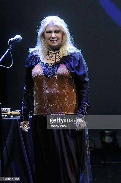 Annie Haslam of Renaissance performs during NearFest 2012 at the Zoellner Arts Center on June 23 2012 in Bethlehem Pennsylvania