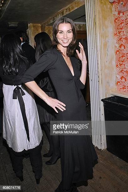 Annie Henley attends A Private Dinner to Celebrate LES PERLES DE CHANEL Hosted by Marjorie Gubelmann Raein and Samantha Boardman Rosen at The Box on...
