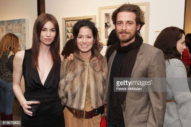 Annie Henley Giada Lubomirski and Alexi Lubomirski attend FOTORELIEF and A Milk Gallery Project organizes A Picture Saves A Thousand Lives at Milk...