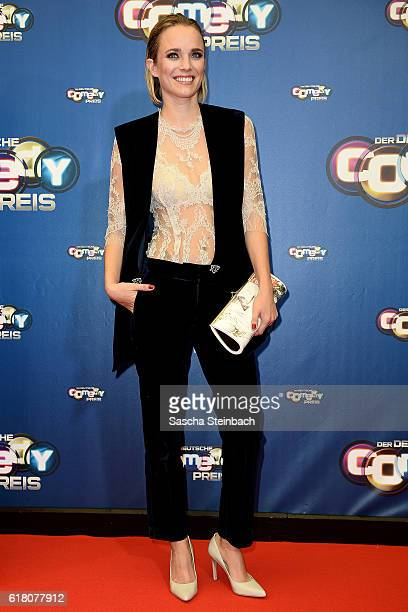 Annie Hoffmann attends the 20th Annual German Comedy Awards at Coloneum on October 25 2016 in Cologne Germany