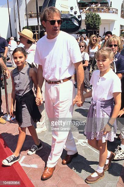 Annie Kevin Lily Costner during Flipper Los Angeles Premiere at Cineplex Odgen in Universal City California United States