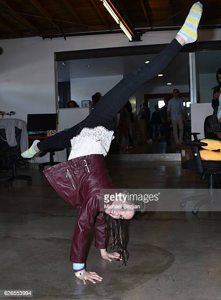 Annie LeBlanc at Musically And What's Trending Host To Benefit The Pablove Foundation at Musically HQ on November 29 2016 in Los Angeles California