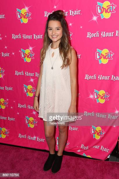 Annie LeBlanc at Rock Your Hair Presents Rock Back to School concert and party on September 30 2017 in Los Angeles California